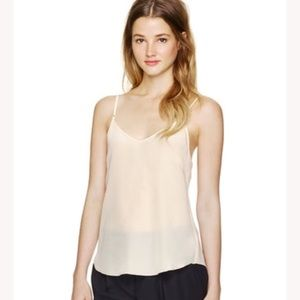 Aritzia Wilfred Minou Silk Medium Camisole Ivory